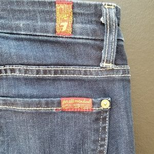 7 For All Mankind Jeans - 7 for All Mankind High Waist Skinny Jeans